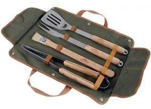Esschert Grillbesteck 5 tlg. in Tasche