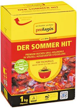 ProFagus Der Sommerhit Holzkohle 1 kg