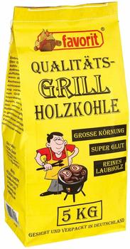Favorit Profi Holzkohle Harteholz 5 kg