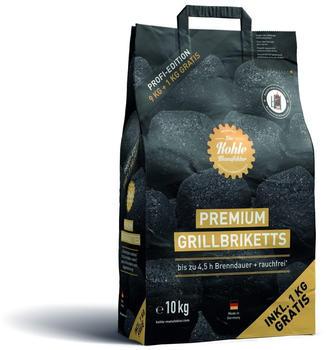 Die Kohle Manufaktur Premium Grillbriketts 10 kg