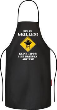 Rahmenlos Bin am Grillen - Keine Tipps! Bier bringen! Abflug!