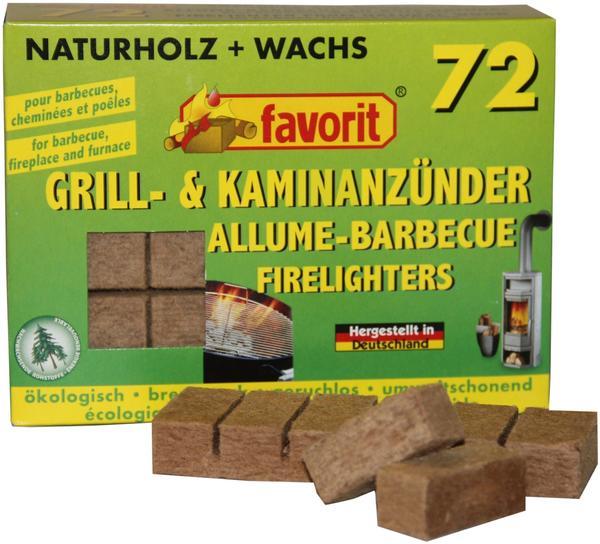 Favorit Würfel Kaminanzünder 72