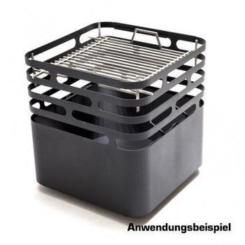 Höfats Grillrost für Feuerschale Cube 41 x 41 cm
