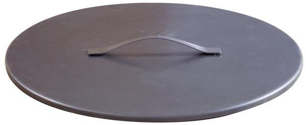 Svenskav Deckel für Feuerschale 63 cm Durchmesser: Rohstahl