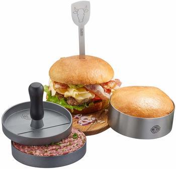 Gefu Burger-Set BBQ 3-teilig (89494)