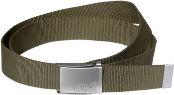 Jack Wolfskin Webbing Belt Wide burnt olive