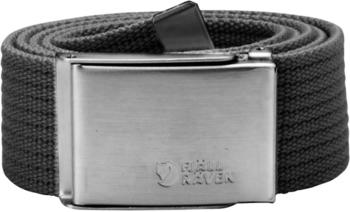 Fjällräven Canvas Belt dark grey