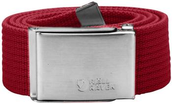 Fjällräven Canvas Belt deep red