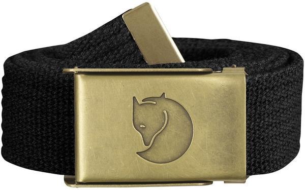 Fjällräven Canvas Brass Belt black