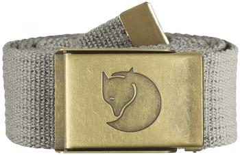 Fjällräven Canvas Brass Belt fog