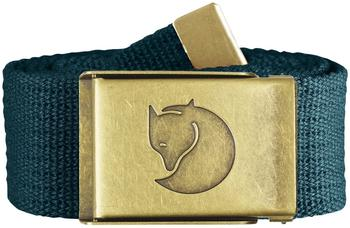 Fjällräven Canvas Brass Belt glacier green