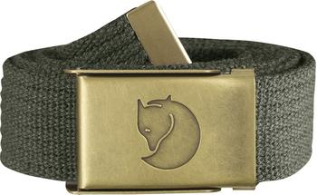Fjällräven Canvas Brass Belt mountain grey