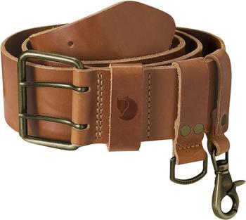 Fjällräven Equipment Belt leather cognac