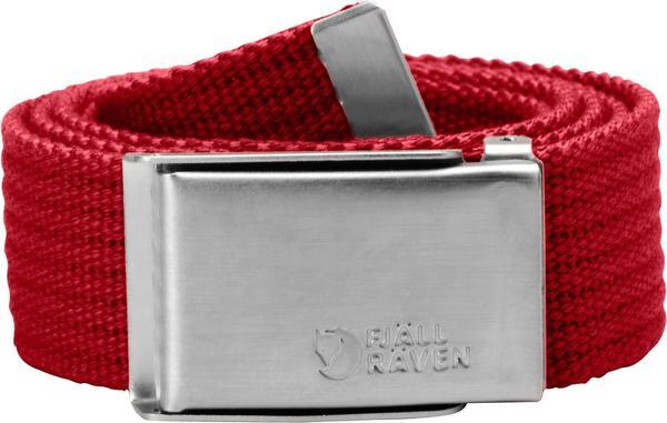 Fjällräven Merano Canvas Belt deep red