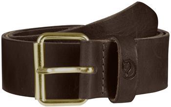 Fjällräven Singi Belt 4 cm leather brown