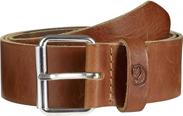 Fjällräven Singi Belt 4 cm leather cognac