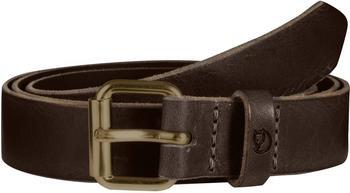 Fjällräven Singi Belt 2,5 cm leather brown