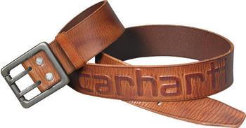 Carhartt Logo Belt (2217) carhartt brown