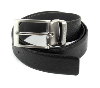 Calvin Klein Stand Alone Adjustable Pebble Belt (K50K50-0509) black