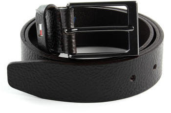 Tommy Hilfiger Layton Pebble Leather Belt (AM0AM05635) testa di moro