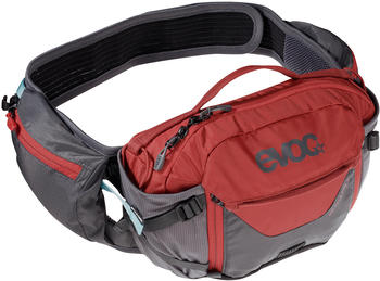Evoc Hip Pack Pro 3L with 1,5L Bladder carbon grey/chili red