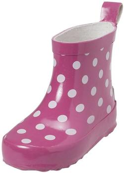 Playshoes Baby Punkte pink