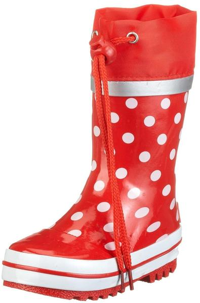 Playshoes Punkte rot (181767)