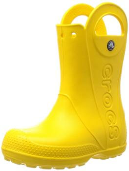 Crocs Kids Handle It Rain Boot yellow