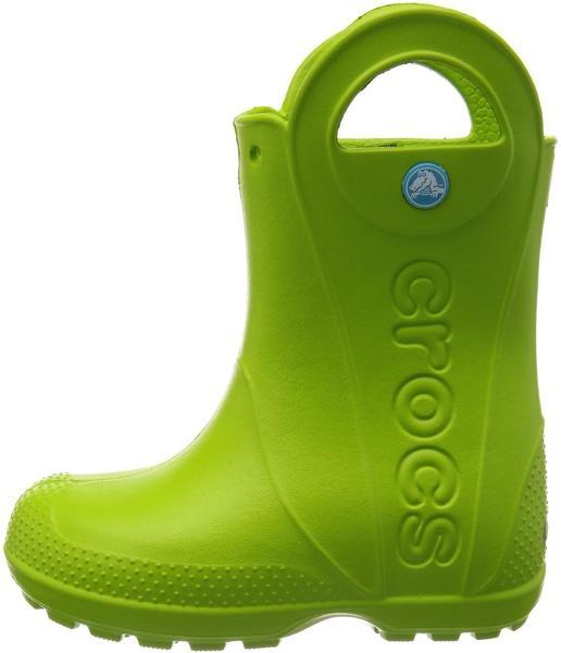 Crocs Kids Handle It Rain Boot volt green