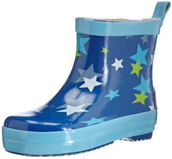 Playshoes Gummistiefel Sterne nieder (180368) blau