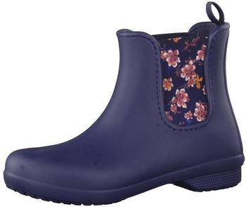 Crocs Women's Freesail Chelsea Boot navy/floral