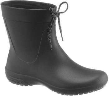 Crocs Women's Freesail Shorty Rain Boots black