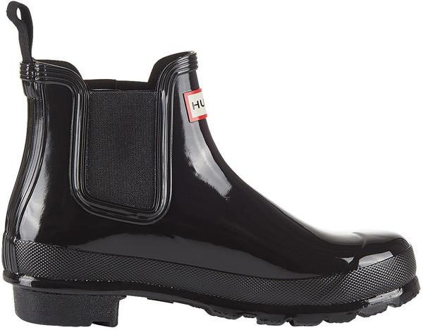 Hunter Women's Original Gloss Chelsea Boots black