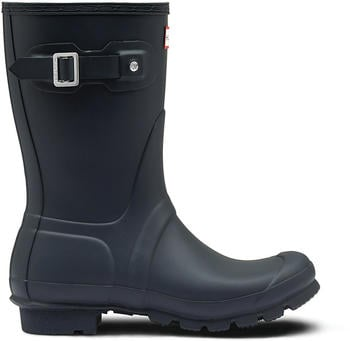 Hunter Women's Original Short Wellington Boots navy