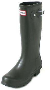 Hunter Original Kids Wellington Boots dark olive