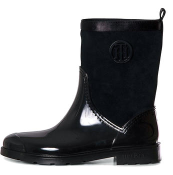 tommy-hilfiger-patent-and-suede-rain-boots-fw0fw03976-black