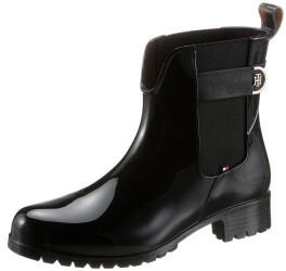 Tommy Hilfiger Monogram Ankle Rainboots black