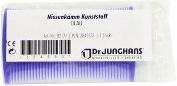 Dr. Junghans Medical Nissenkamm Kunststoff Blau