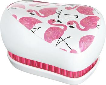 Tangle Teezer Compact Styler White Flamingo