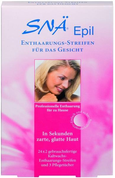 Snä Epil Enthaarungs-Streifen für das Gesicht (24 x 2 Stk.)