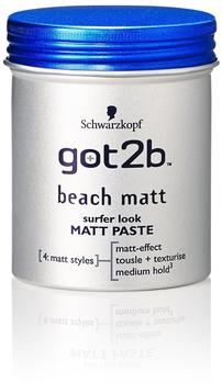 Schwarzkopf Got2b Beach Matt Surfer Look Paste (100ml)