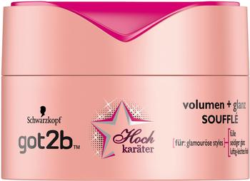 got2b Hochkaräter Volumen + Glanz Souffle 3 x 100 ml
