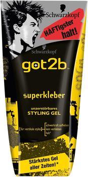 Schwarzkopf Got2Be Superkleber Styling Gel (150ml)