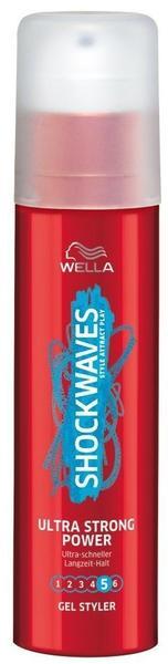 Wella Shockwaves Power Gel Styler Ultra Strong (100ml)
