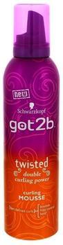 Schwarzkopf Got2b Lockmittel Locken Mousse (250ml)