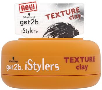 got2b iStylers Texture Clay , 2er Pack (2 x 75 ml)