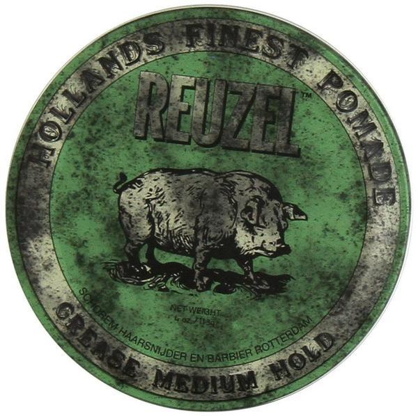 Reuzel Green Grease Medium Hold Pomade (113g)