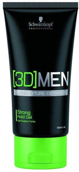 Schwarzkopf Haarpflege 3D Men Gel 150 ml