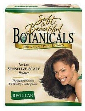 Soft & Beautiful Botanicals No-Lye Sensitive Scalp Relaxer Kit Regular