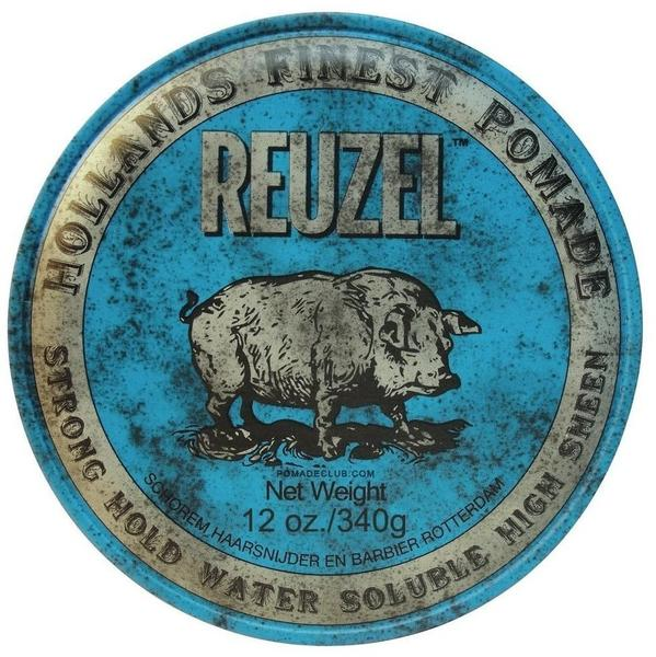 Reuzel Blue Strong Hold High Sheen Pomade (340g)